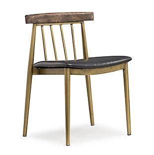 Alfie Alfie Brown Chair, , large
