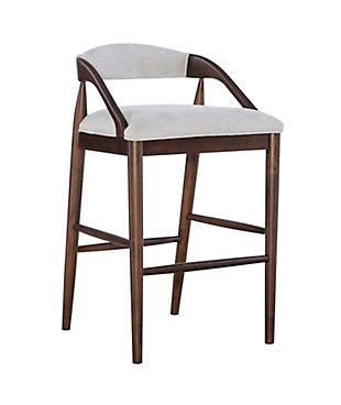 Ree Upholstered Bar Stool, , large
