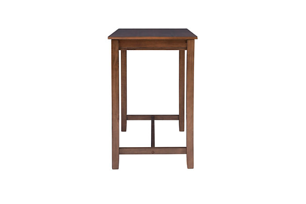 Claridge 36 inch Counter Height Pub Table, Rustic Brown, Rustic Brown, large