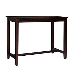 Claridge 36 inch Counter Height Pub Table, Walnut, Walnut, large