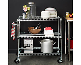 3-Tier Kitchen Cart, , rollover