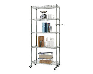 5-Tier Pantry Rack, , large