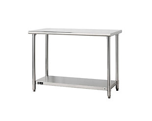 "Stainless Steel 48"" Table, , large"
