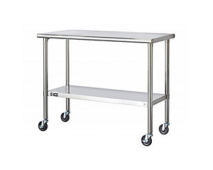 Stainless Steel Rolling Table, , large