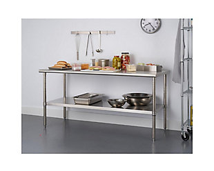 "Stainless Steel 72"" Table, , rollover"