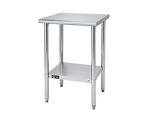 "Stainless Steel 24"" Square Table, , large"