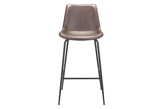 Byron Bar Chair Brown, Brown, large