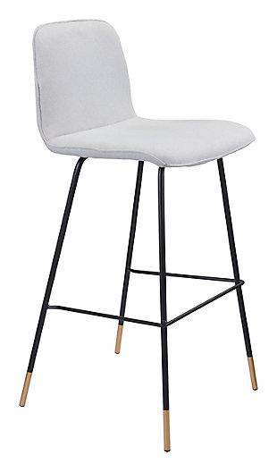 Gironde Bar Chair Light Gray, , large