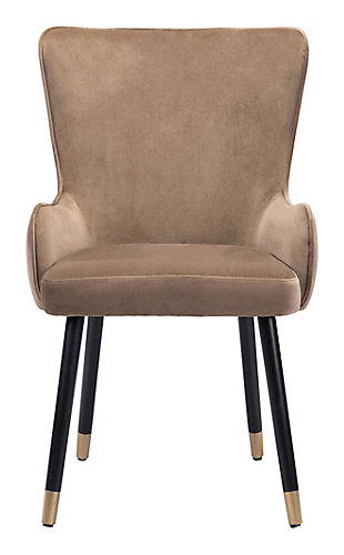 Paulette  Accent Chair Brown, Brown, rollover