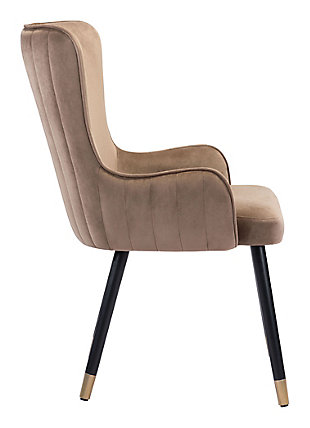 Paulette  Accent Chair Brown, Brown, large