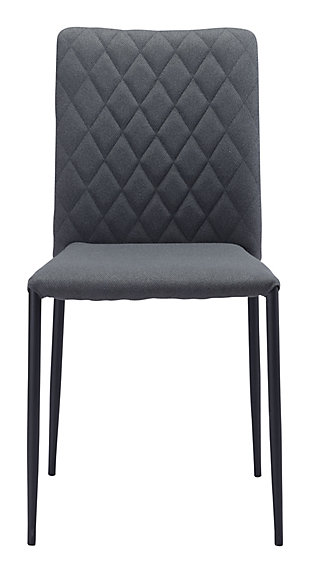 Harve  Dining Chair (Set of 2) Gray, Gray, rollover