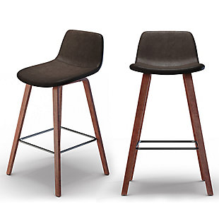Addy Contemporary Modern 26 inch Counter Stool (Set of 2), , large