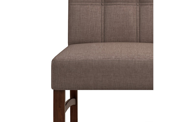 Ezra  Contemporary Deluxe Dining Chair (Set of 2), , large