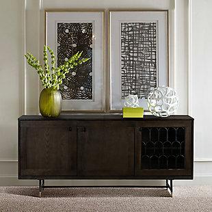 Gatsby Oak and Metal Buffet Cabinet, , rollover