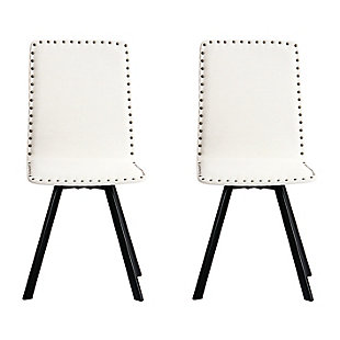 Studded Linen Swivel - Set of 2, , large