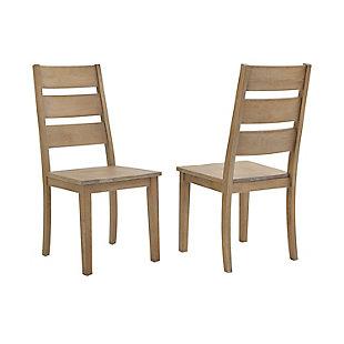 Joanna  2-Piece Ladder Back Chair Set, , large