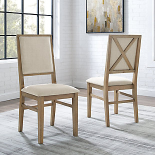 Joanna  2-Piece Upholstered Back Chair Set, , rollover