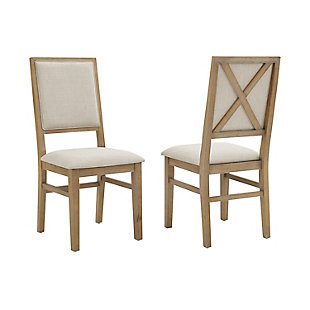 Joanna  2-Piece Upholstered Back Chair Set, , large