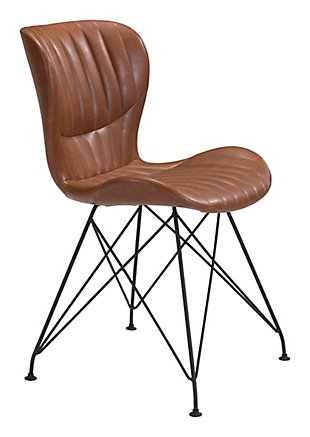 Gabby Dining Chair (Set of 2), Vintage Brown, large