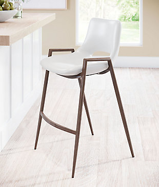 Desi Dining Chair (Set of 2) White, White, rollover