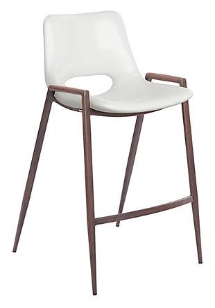 Desi Dining Chair (Set of 2) White, White, large