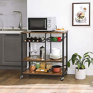 VASAGLE Kitchen Cart, , rollover
