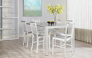 Euro Style Cafe Side Chair in Matte Aluminum - Set of 2, , rollover