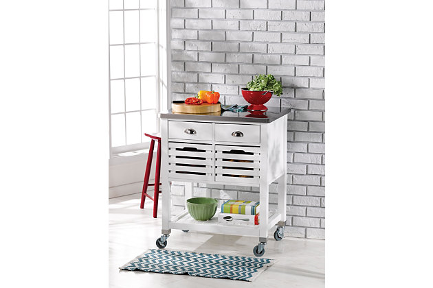 Robbin Kitchen Cart, , large