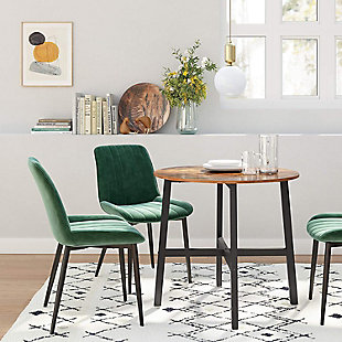 VASAGLE Round Dining Table, , large