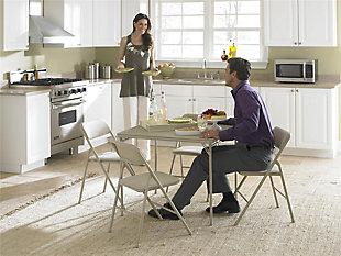 COSCO 5-Piece Folding Dining Set, , rollover