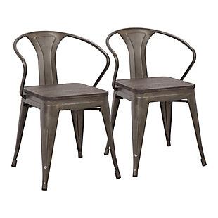 LumiSource Waco Chair - Set of 2, , large