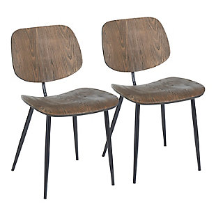 LumiSource Wilson Chair - Set of 2, , large