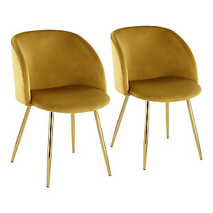 LumiSource Fran Chair - Set of 2, , large