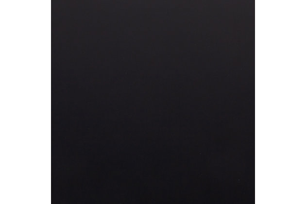 LumiSource Dakota Dining Table, Black, large