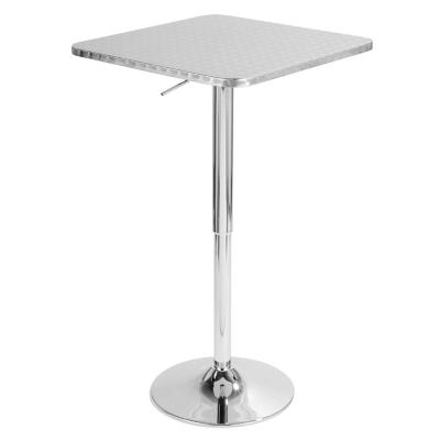 LumiSource Bistro Square Bar Table, , large