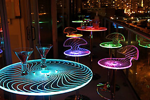 LumiSource Spyra Bar Table, , large