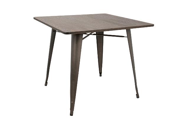 LumiSource Oregon Dinette Table, , large