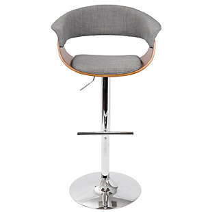Verdana Adjustable Height Bar Stool with Swivel, , rollover