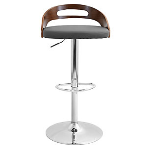 Cameron Adjustable Height Bar Stool with Swivel, , rollover