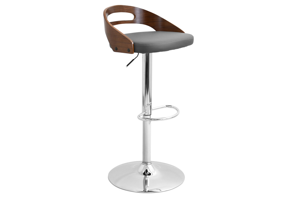 Miraculous Cameron Adjustable Height Bar Stool With Swivel Ashley Beatyapartments Chair Design Images Beatyapartmentscom