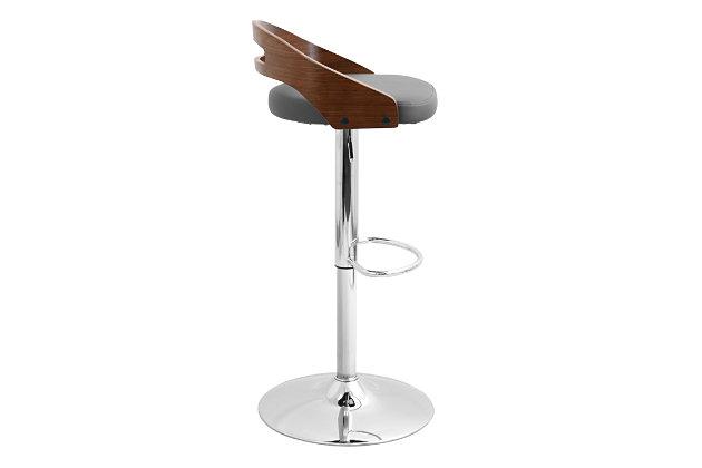 Sensational Cameron Adjustable Height Bar Stool With Swivel Ashley Beatyapartments Chair Design Images Beatyapartmentscom