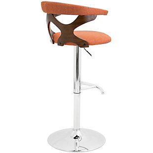 Gardenia Adjustable Height Bar Stool with Swivel, , large