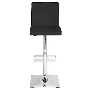 LumiSource Captain Adjustable Height Bar Stool with Swivel, , rollover