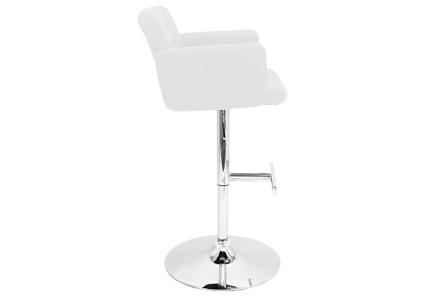 Stout Adjustable Height Bar Stool with Swivel, , large