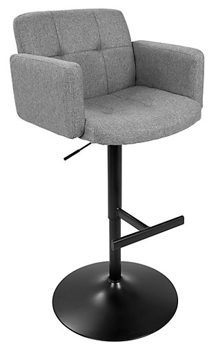 LumiSource Stout Bar Stool, , large