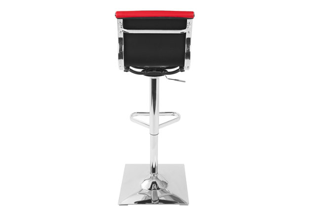 Master Adjustable Height Bar Stool with Swivel, , large