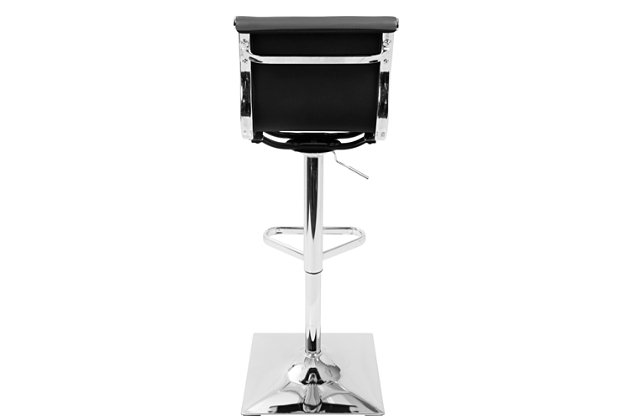 Master Bar Stool, Gray, large