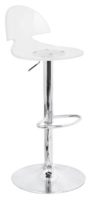 Ashley LumiSource Venti Adjustable Height Bar Stool with ...