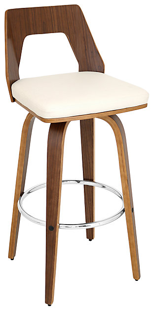 LumiSource Trilogy Barstool with Swivel, , large