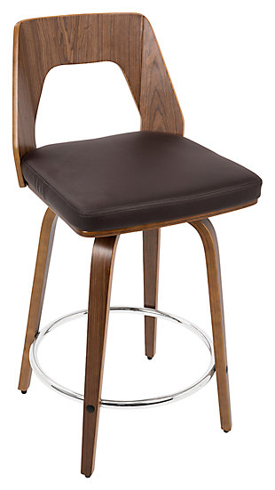 LumiSource Trilogy Counter Stool, , large